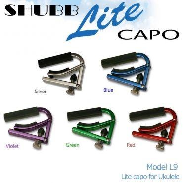 SHUBB(シャブ)Lite L9 CAPO(ウクレレ用カポタスト)