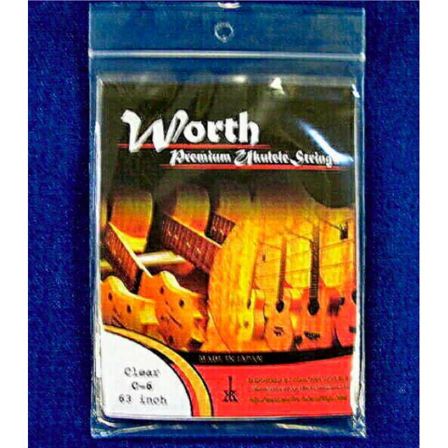 Worth 弦 (C-6 - クリアフロロカーボン6弦用)