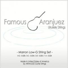 Famous(フェイマス)Aranjuez(アランフェス)弦 Marron(マロン)Low-G set