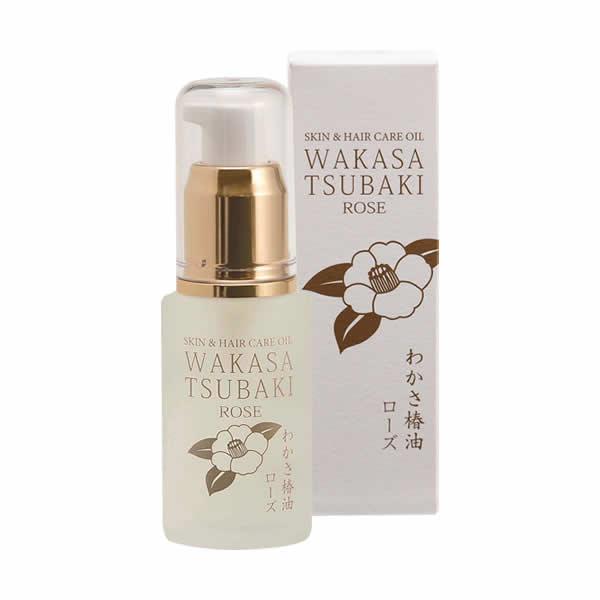 【送料無料】WAKASA TSUBAKI  ROSE  30ml
