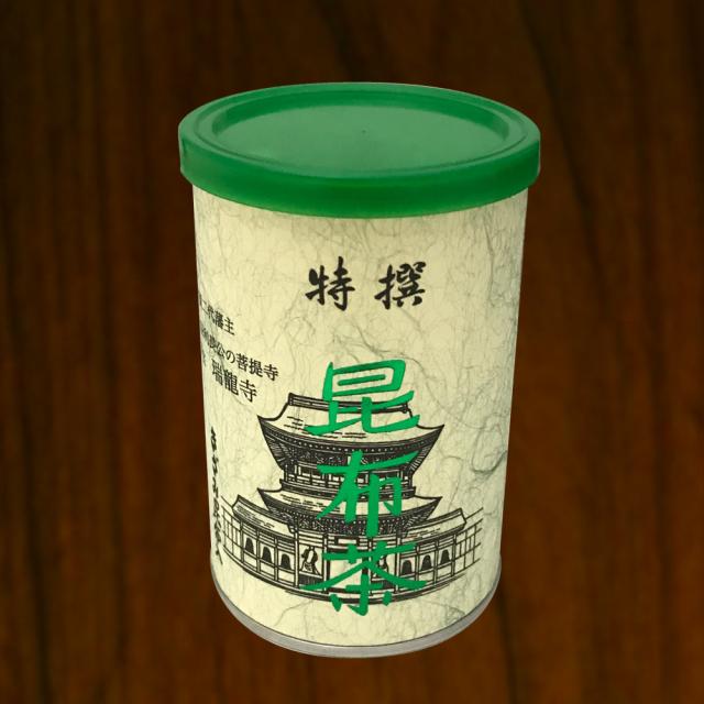 昆布茶 浪花昆布茶 90g