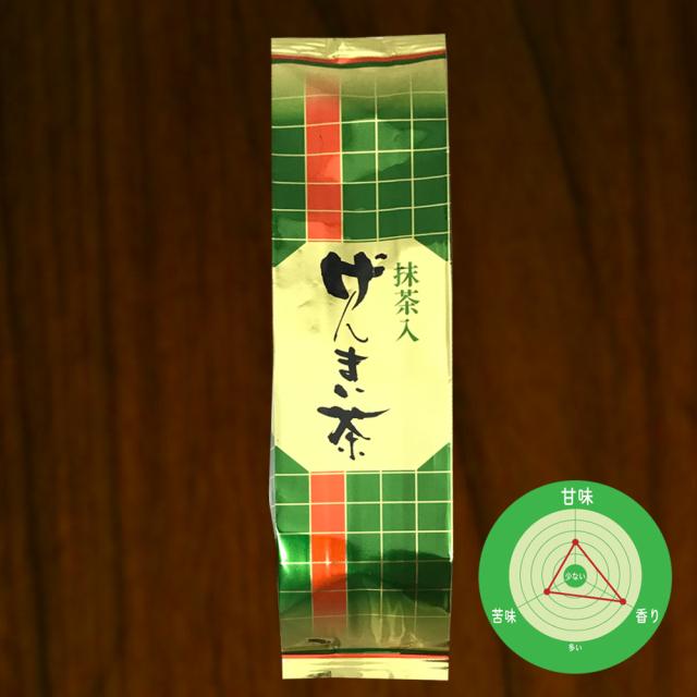 抹茶入り玄米茶 150g