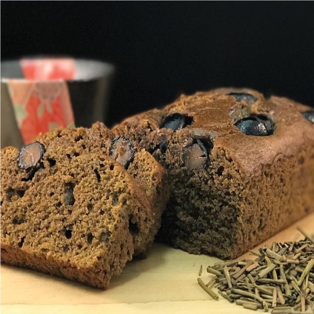 富山棒茶のほうじ茶パウンドケーキ