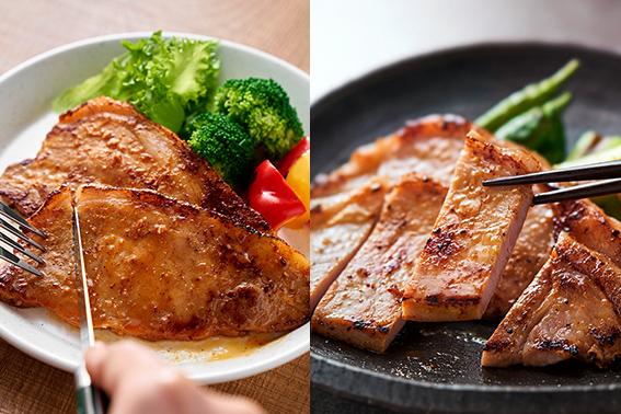 【鹿野ファーム】鹿野高原豚 お肉ソムリエ厳選ロース肉味噌漬けセット