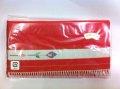 [茶道具 ふくさばさみ 手織り本つづれ 朱赤色] 西陣織 女性用