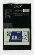 業務用ポリ袋 20L LLDPE 黒色0.03mm 600枚/ケース P-22 ジャパックス