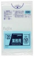業務用ポリ袋 20L LLDPE+meta 透明0.025mm 600枚/ケース TM23 ジャパックス