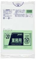 業務用ポリ袋 20L LLDPE+meta 半透明0.025mm 600枚/ケース TM24 ジャパックス