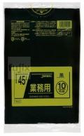 業務用ポリ袋 45L  LLDPE+meta 黒色0.025mm 600枚/ケース TM42 ジャパックス