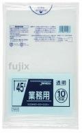 業務用ポリ袋 45L  LLDPE+meta 透明0.025mm 600枚/ケース TM43 ジャパックス