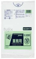 業務用ポリ袋 45L  LLDPE+meta 半透明0.02mm 600枚/ケース TM49 ジャパックス