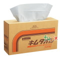 クレシア キムタオル ホワイト  ポップアップシングル パルプ 4枚重ね×150枚×4箱/ケース 61430