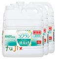 ライオン 香りとデオドラントのソフラン フルティグリーン 業務用 プレミアム消臭プラス 4L(詰替用)×3本/ケース