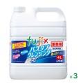 ライオン バスタブクレンジング 銀イオンプラス 4L×3本/ケース 業務用(詰替用)浴槽洗剤