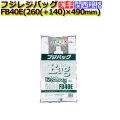 フジバック エコノミー FB40E レジ袋(レジバッグ)40号 白無地 2000枚/ケース
