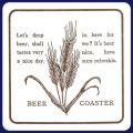 フジ紙コースター BEER白角