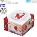 デコレーションケーキ箱 TDベリー 6号 100個/ケース M40840 ケーキ箱 業務用