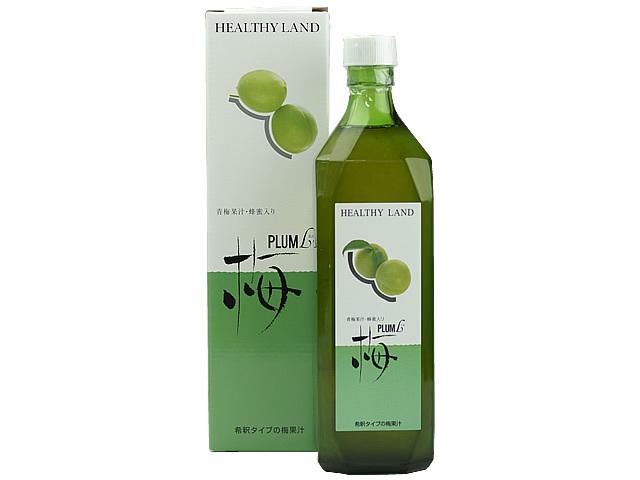 果汁40% 和歌山県産の青梅で作った梅ドリンク プラムL