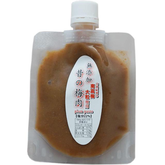 無添加 昔の梅肉パウチパック100g