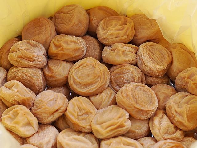 和歌山県産、南高梅干大人買い、送料無料【慣行栽培】・B級ランク・大粒【7kg】