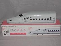 6777 芋焼酎 桜【軸屋酒造】新幹線さくらN700系列車ボトル 紫尾の露 360ml☆