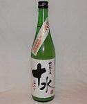 780【加藤嘉八郎酒造/山形】十水 うすにごり原酒 特別純米酒 720ml