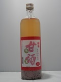 5192 甘酒【篠崎/福岡】国菊 黒米甘酒 985g×6本 [お取り寄せ商品]