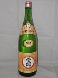 704 【萱島酒造/大分】西の関 手造り純米酒 1800ml