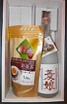 1593hisi ひし焼酎&菱茶 「菱娘720ml 彩菱茶」 セット