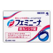 フェミニーナ 腟カンジダ錠 6錠 【第1類医薬品】 4987072061879