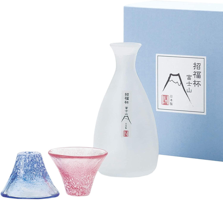 冷酒セット 招福杯富士山