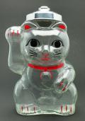 招き猫 菓子瓶