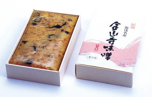 金山寺味噌(甘口) 500g