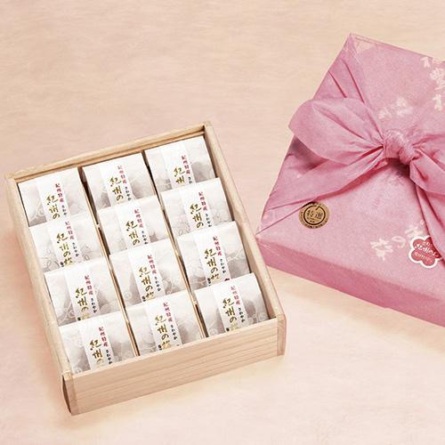 紀州の梅 「個包装」 木箱入り12粒