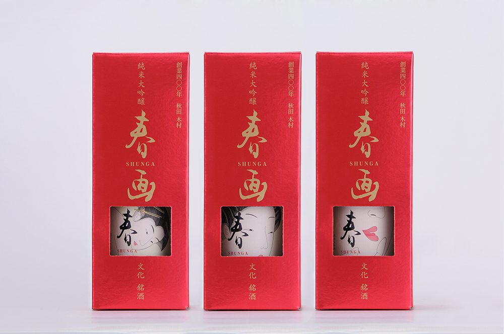 【数量限定!】純米大吟醸福小町 春画 (720ml)