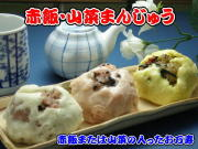 赤飯・山菜万寿・お試しセット