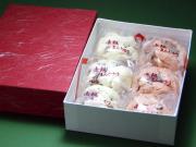 赤飯まんじゅう・6個(箱入り)