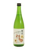 秋田犬ラベルオンザロック純米吟醸原酒720ml