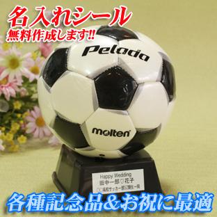 記念品♪サッカーボールmoltenサインボール【PF200(白黒)】