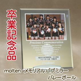 記念品♪メモリアルパブミラー バレーボール【MPMSV】