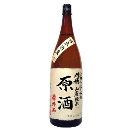 刈穂 山廃純米原酒「番外品」 +21