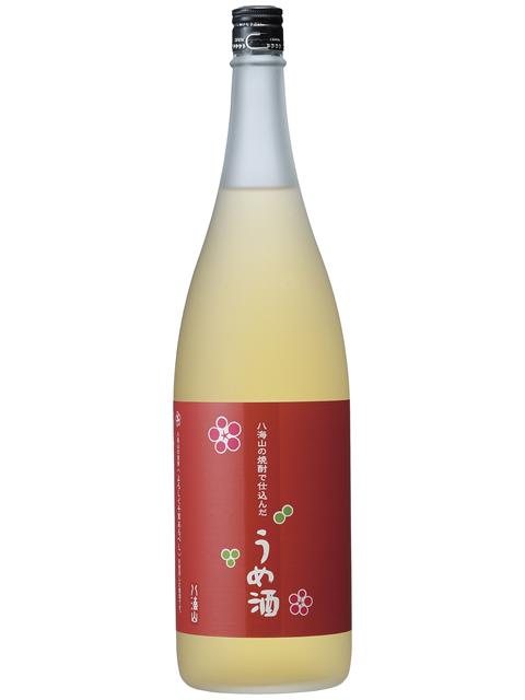 八海山の焼酎で仕込んだうめ酒1800