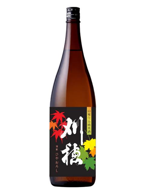刈穂 山廃純米酒ひやおろし1800