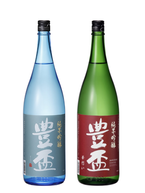 豊盃 ギフトセット(夏ブルー・華想い)720ml×2