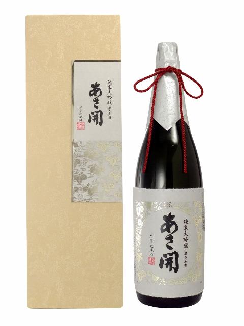 あさ開 純米大吟醸 磨き五割1800