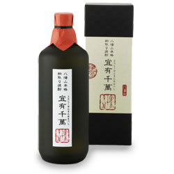 八海山 粕取焼酎「宜有千萬」40度
