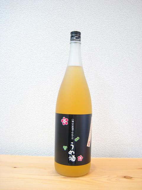 八海山の原酒で仕込んだうめ酒1800