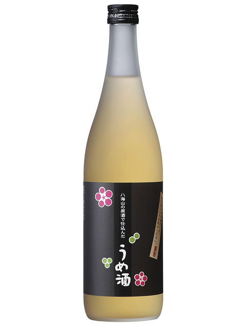 八海山の原酒で仕込んだうめ酒720