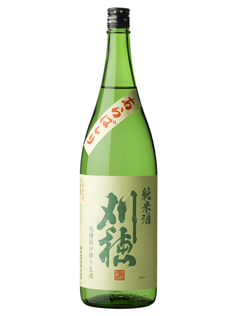 刈穂 純米新酒生あらばしり1800
