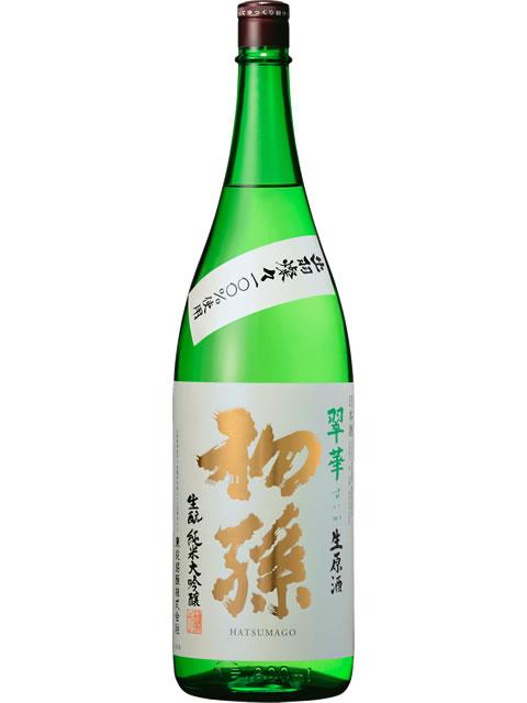 初孫 翠華(すいか)生原酒1800